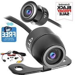 TOPTIERPRO  Backup Camera - Car Front/Side/Rear View Camera,