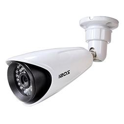 "ZOSI 1/3"" CCTV Bullet Security Camera 1000TVL High Resolutio"