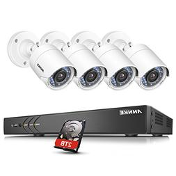 ANNKE 5-In-1 16-Channel 1080P Home Security Cameras System 4