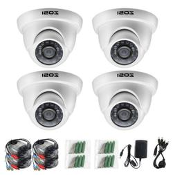 ZOSI HD 720p 4 in 1 Outdoor 3.6mm Day Night IR Cut Dome CCTV
