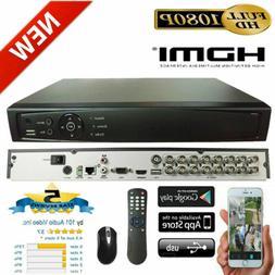 101AV 16CH Surveillance Digital Video Recorder HD-TVI/AHD H2