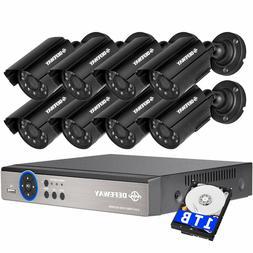 DEFEWAY 1080N 8CH HD DVR CCTV Surveillance Security Camera S