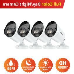 SANNCE 1080P 2MP Full Color Night Vision Warm Light LED 3000