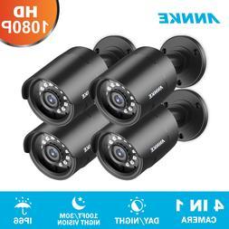 ANNKE 1080P 4in1 Outdoor CCTV Home Security Surveillance Cam
