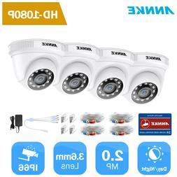 ANNKE 1080P HD 2M TVI IR Night Vision DNR Smart Camera for H