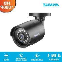 ANNKE 1080P HD 4IN1 CCTV Home Security Surveillance 2MP Outd