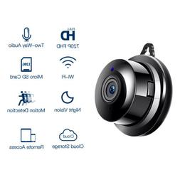 FREDI 1080P HD Mini Wifi Camera Wireless Spy Hidden Night Vi
