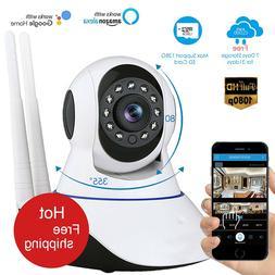 1080P HD Surveillance <font><b>Camera</b></font> Wifi <font>