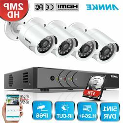 ANNKE 5IN1 8CH 1080P Lite DVR Video CCTV Smart Security Came
