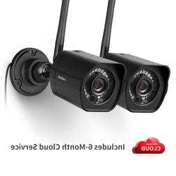 meShare 1080p Outdoor Wireless Security Camera 2 Pack Smart