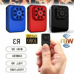 1080P Camera WiFi Mini Portable Camera Indoor/Outdoor HD DV