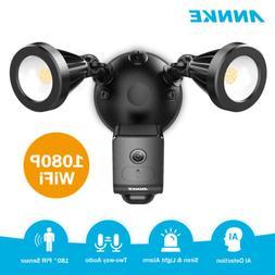 ANNKE 1080P Wireless Floodlight Camera 2MP AI WiFi Security