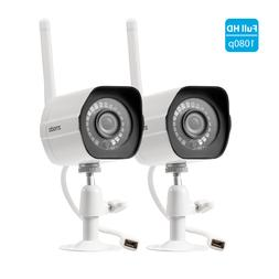 Zmodo 1080p Wireless Home Security Camera System  Indoor Out
