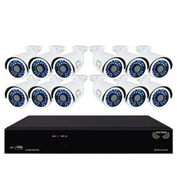 Night Owl 16-Channel 12-Camera 1080p Security System with 1T