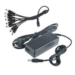 ABLEGRID 12V 5A AC/DC Adapter +8 Split Power for Sannce CCTV