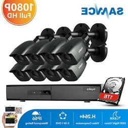 ANNKE 8CH 1080P HDMI DVR 960P Outdoor CCTV 2000TVL Security