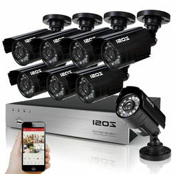 1500TVL Outdoor 960H Night Vision Security Camera System ZOS