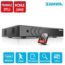 ANNKE 16CH 1080P Lite H.264+ CCTV DVR for Security Camera Sy