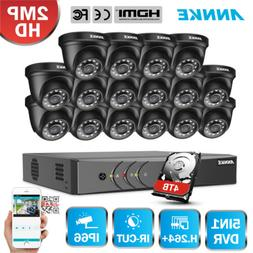 ANNKE 16CH 1080P Lite H.264+ DVR 2MP Outdoor Security Camera