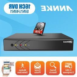 ANNKE 16CH 8CH 4CH 1080P Lite DVR H.264+ Recorder HDMI Email