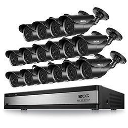 ZOSI 16CH Full 720P 1080N HDMI DVR Outdoor IR Cut Home CCTV