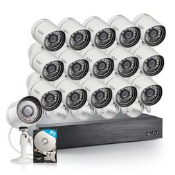 Funlux 16Pack sPoE Outdoor Security Camera 16Channel NVR w/2