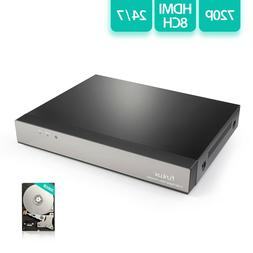 Funlux 184819 Ns-s81a-s-500gb 8ch 720p Hd Nvr H.264 With 500