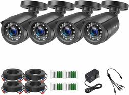 ZOSI 2.0 Megapixel HD 1080P HD-TVI Security Cameras Day Nigh