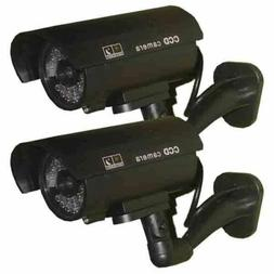 2 Pack - USAHITEC JYtrend  Outdoor Dummy Fake Security Camer
