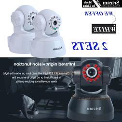 2 Set of OEM Sricam 720P Wireless IP Camera WiFi Security Ni