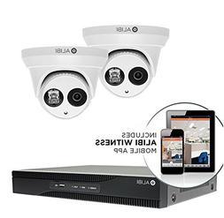 Alibi 2-camera 3.0 Megapixel 120' IR Outdoor IP Security Dom