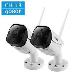 ZOSI 2 PCS Outdoor Wireless IP Camera HD 1080p Onvif Securit