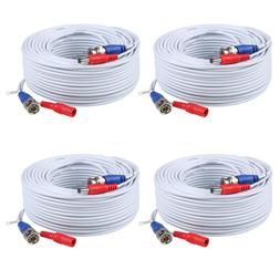 ANNKE 25/50/60/100/150ft HD Video Power Cable BNC RCA for Se