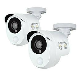 Night Owl Security 2Pk 1080p Wired HD Analog Security Camera