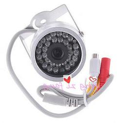 30 LED Color Waterproof Small CCTV Security Camera WITH AUDI