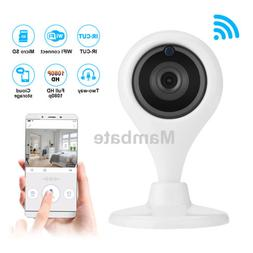 360° Wireless Wifi Camera Home Security Surveillance Detect