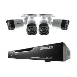 Lorex 4 CH 500GB HD DVR Security Surveillance Kit w/ 4 720p