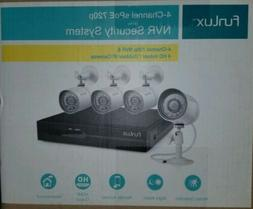 Funlux 4-Chaanel sPoE 720p NVR Security System