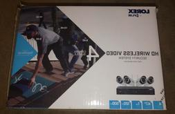Lorex 4 Channel 720p HD Wireless Security System with 1TB HD