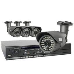 4-Camera 2.1 Megapixel 75 ft IR Day/Night HD-SDI Outdoor Bul