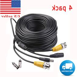 2x BNC Connecter for Night Owl Security Camera PKPOWER 25ft Video Power Cord