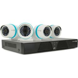 Ezviz 4Ch 4MP Security System with 4 Outdoor Bullet Cameras,