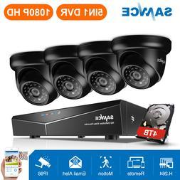 ANNKE 4CH 720P TVI 1080P DVR Outdoor Night Vision 2000TVL Se