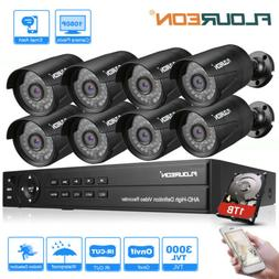 4CH/8CH 1080N AHD 1500/3000TVL Camera Security DVR CCTV Surv