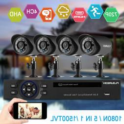 4CH CCTV Security Camera System HD 720P Outdoor Home Video S