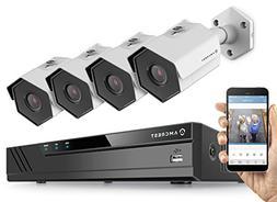 Amcrest 2MP 1080P Security Camera System, w/ 4K 4CH PoE NVR,