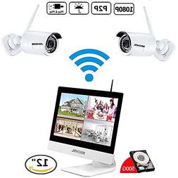 Bechol 1080HD Wireless Security Surveillance IP Camera Syste