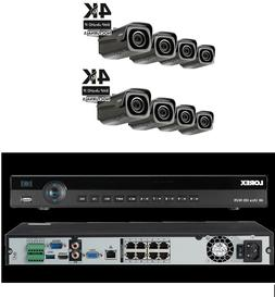 Lorex 4K 8 channel IP system with Motorized Camera  NR9082 w