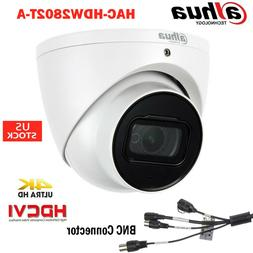 8MP Starlight HDCVI IR Dome Eyeball Camera Dahua 4K HAC-HDW2