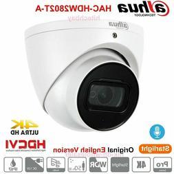4k starlight 8mp hdcvi ir eyeball camera